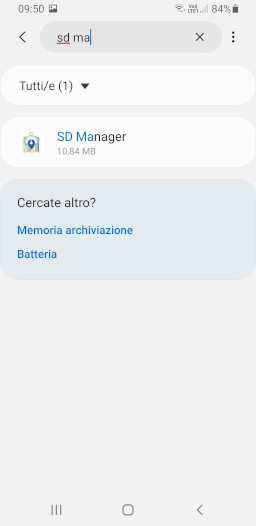 SD Manager - Pulizia cache Android - 2 - small